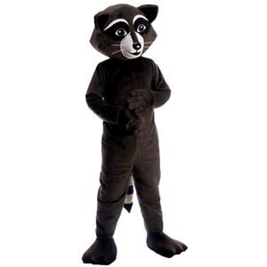 Raccoon do traje da mascote dos desenhos animados Character Adulto alta qualidade Tamanho Longteng (TM) 0025