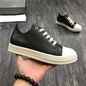 Черный Белый серебра Mens женщин крупногабаритные Повседневная обувь Красивые платформы Casual кроссовки Дизайнеры Обувь Кожа Сплошные цвета Trainer 35-47