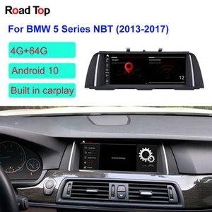 "10,25"", 12,5 '' Android GPS Navigasyon WIFI Stereo Dash Multimedia Player ile BMW 5 Serisi F10 F11 Car 2013-2017 için 10 OS Ekran"