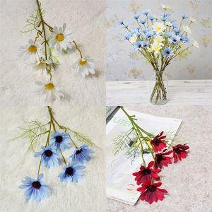 Decorazioni per la casa crisantemo artificiale singolo ramo primavera paesaggio fiori pastorali decorazione di cerimonia nuziale fiore simulato nuovo arrivo 1 75hz L1