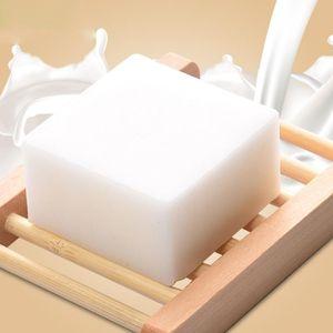 100 g de leche de cabra jabón hecho a mano de reparación reducir los poros tratamiento anti acné Aceite hidratante para blanquear jabón jabón de baño