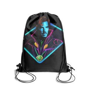 المنتقمون الكلاسيكية طبيب غريب شعار الأزياء كيس حزام الظهر، تصميم خطة مناسبة لCOOL مدرسة MARVEL ملصق الكونية الجرافيك