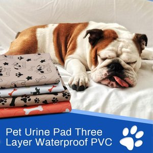 Waterproof Bed Pet Pee Pads Dog Mat Para urina do cão Pads filhote de cachorro Pee Pad reutilizável Pet Diaper Urina