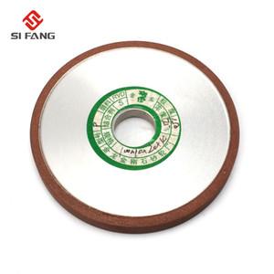 "4"" pulgadas plana Diamond Grinding Wheel Resin Bond forma Grinder Grinding Disc hoja de sierra 150 Grit 75% Rotary Herramientas abrasivas"