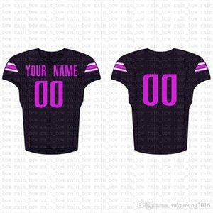 2019 New Custom Football Jersey alta qualidade Mens frete grátis bordado Logos 100% venda top costurado 22