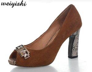 2020 donne nuove scarpe di moda. scarpe donna, weiyishi 035