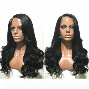 증권 8-26inch 글루리스 브라질 머리 가발 젖은 물결 모양의 비욘세 레이스 프런트 가발 아기 헤어 천연 헤어 라인