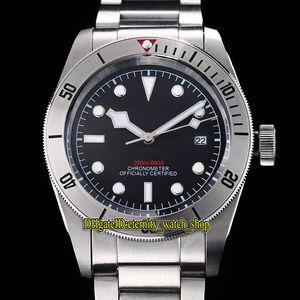 5 cores de alta qualidade Heritage Black Bay M79730-0006 mostrador preto Japão Miyota Autoamtic Mens Watch 316L Aço Caso Steel Band Sport Relógios