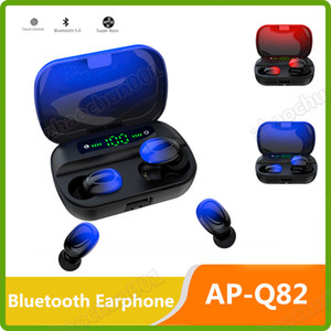 HBQ i7 توينز سماعات أذن لاسلكية ميني بلوتوث V4.2 سماعات ستيريو لاجهزة الايفون X 8plus 7 6s 6 بلس Galaxy S8