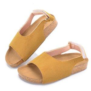 Verano sandalias de playa para niños Niños Zapatos para el zapato Niñas Sandalias transpirable zapatos casuales del niño Baby School