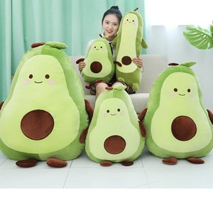 Creative Abacate Stuffed Plush Toy Cute Fruit Toy Pillow Kawaii Abacate Toy Birthday Gift Soft Pillow Children Christmas Gift