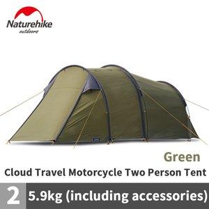 Tent Naturehike viagem Cloud 2 Person Camping Tent Motor auto-condução Tourist 40D Waterproof Caminhadas Camping Equipment
