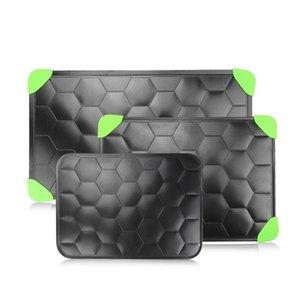 Multifunción tortuga Shell Bandeja de descongelación rápida de aleación de aluminio de la textura de descongelación Plato del filete Junta Alimentos congelados Carne descongelación 27bj6 E1