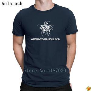 My dark soul wearing a spring T-shirt on the back of strange big offer Cotton Jersey man