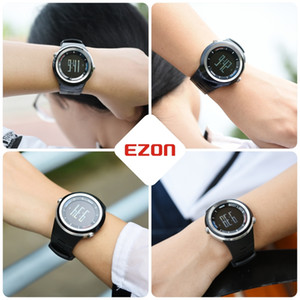2021 EZON S2 Bluetooth 4.0 Sports SmartWatch Lembrete Pedômetro Passos Call Calorias Smart Watch para iOS e Android