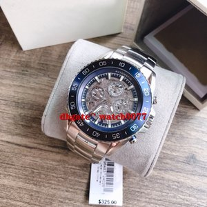 NUOVO MK9024 MK9012 MK9011 utomatic Multi-Function Nero Ion Acciaio Mens Watch 9024 9012 9011
