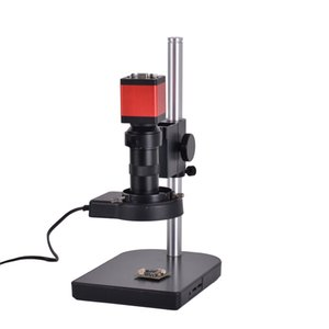13 MP HDMI 1/3 inç CMOS HD VGA Dijital Sanayi Video Gözlem Mikroskop Kamera Seti + 100X C-montaj Mercek + 56 LED Işık + masa standı