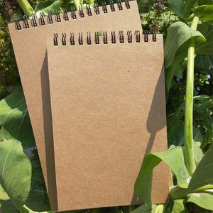 Notebook Retro Antichità Carta kraft Portatile Sketchbook Graffiti Bobina di ripresa Idea creativa Notepad Popolare Vendita diretta in fabbrica 2 8jc p1