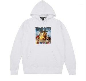 Designer Luxury Mens Hoodies Letter Print Hooded Sweatshirts Male Clothing Travis Scott Astroworld Hip Hop Rap
