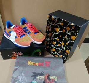 Dragon Ball Z all'ingrosso x ZX 500 Goku Run scarpa classica Designer Fashion Limited Edition Superiore Sport Shoes