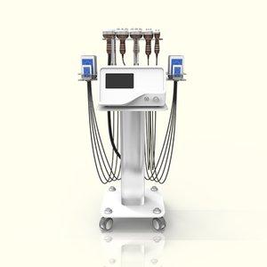 새로운 모델 40K 초음파 지방 흡입 수술 공동 현상 레이저 슬리밍 기계 진공 RF 스킨 케어 살롱 스파 장비 사러 8 개 패드