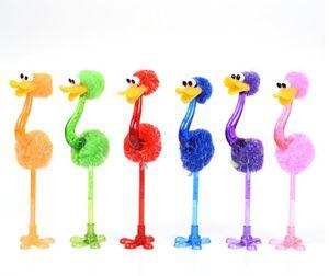 Engraçado avestruz caneta esferográfica Student Papelaria Criativa Toy dos desenhos animados canetas Escritório Escola Pen Crianças Melhor presentes SN1465