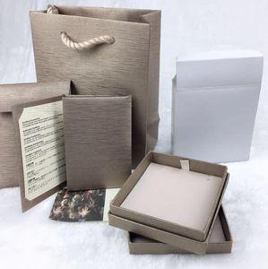 Kadın Marka Hediye Çanta ile desigenr kutusu Rüya Mücevher Kutusu Yüzük Kolye Bilezik Takı Seti Kutusu 5 Adet