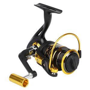 Yeni Yükleme Spinning Wheel Balıkçılık Reel LA2000-LA7000 Rulmanlar 12BB Tüm Metal Carretilha Süper Güçlü Balıkçılık Aracı