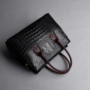 Womens Designer Handbag Luxury Business Ladies Bag Crocodile Handbag Custom Retro Trend Bag Female High Quality 2020 New Style