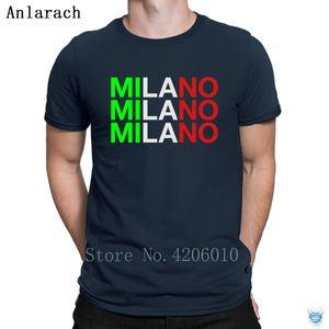 Milan T-Shirt New Arrival Clothing Trend Men's Tshirt Fun Summer Designs Anlarach Hot Sale