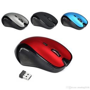 Moda 2.4GHz Wireless ricaricabile mouse connettività intelligente per il computer portatile