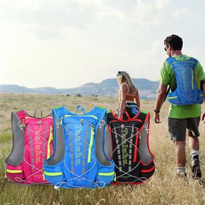 Спорт Гидратация пакеты Vest воды сумка Открытый пакет Туризм Отдых Велоспорт Бег по бездорожью Marathon Рюкзак свет дышащий рюкзака