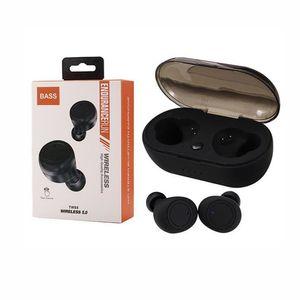 TWS5 Bluetooth 5.0 Auricolari TWS auricolari cuffie auricolari cuffie senza fili di sostegno di controllo tocco wireless per Samsung smartphone HTC