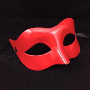 2020 Sexy venezianische Maske Venedig Hochzeit Karneval Partei-Leistungs-Rot Blau-Kostüm Sex Lady Maske Halloween Masquerade