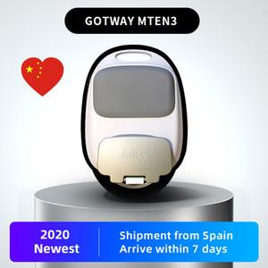"""2020 Nouveau modèle GotWay Mten3 10"""" électrique monocycle 512WH, 40-50km de vie, moteur 800W, vitesse maximale: 40km / h, ce poids d'environ 10 kg, 3,0 pneu large"""