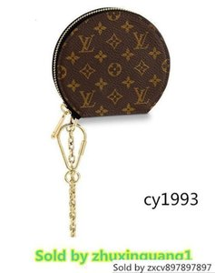 M63597 Micro Boite Factude WOMEN REAL LEATHER LONG WALTS CHAIN WALKLETS COMPACT BATCHES EVENING KEY CARD HOLDS