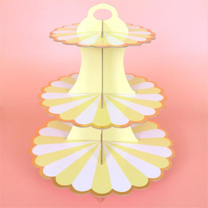 40in 3 Tier Cake Stand Dessert Cup Cake Bracket Afternoon Tea Wedding Plates Party Tableware Decoration Tool Three Layer Cake Rack