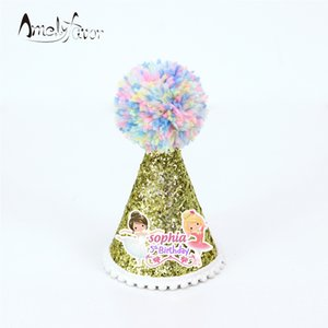 Bailarinas Theme Party Hat Sesiones fotográficas Decoración Ballet Girls Party Decorations Supplies Kids Birthday Baby Shower Custom-Made