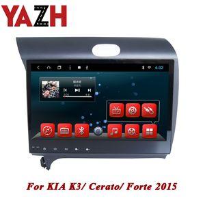 YAZH gps rádio carro DVD 1 DIN para Kia K3 / Cerato / Forte 2.015 Android 8.1 Octa núcleo do sistema RAM de 2 GB ROM 32GB transmissor apoio fm