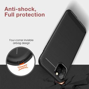 Новый чехол для iPhone 11 Pro Max Carbon Fiber телефона Кок крышка случая для 11 Pro Max 11 Pro