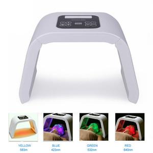 Corée Portable OMEGA Led Luminothérapie machine 4 couleurs pour l'acné PDT Photon traitement Pigmentation Correction