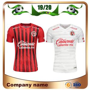 19/20 Mexique LIGA MX Club Tijuana maillots de football 2019 Accueil Rouge LUCERO RIVERO BOLANOS Maillot de football Club Tijuana uniforme extérieur