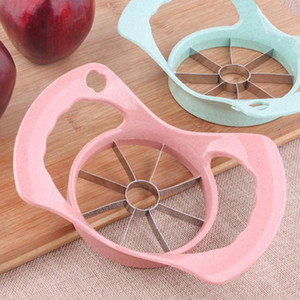 stainless steel kitchen gadget multi cutter tool Convenient Apple Fruit Cutter Dicing Slicer Machine multi colors SN1647