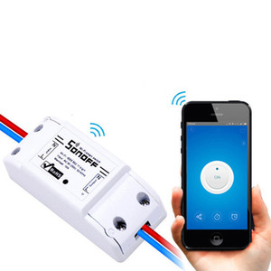 Sonoff Basic Wireless Wifi Switch For Smart Home Automation Relay Module Remote Controller 10A 90-250V For IOS Android