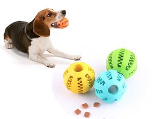 Morbido gomma da masticare palla pet giocattoli cucciolo di cotone spazzolino da denti palline giocattoli per bambini palla da masticare giocattoli dente pulizia palle di cibo consegna rapida