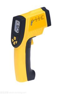 Multi-función pistola de medición de temperatura por infrarrojos la temperatura del termómetro de mano de alta precisión de medición de pistola termómetro electrónico lase