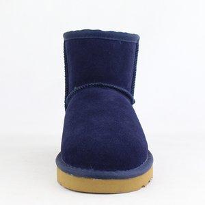 Hot Sale Australian Frauen-Schnee-Boost-Ug Frauen-Schnee-Aufladungen 100% echtes Leder Stiefeletten warme Winterstiefel Frauen-Schuh