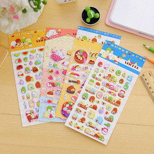 Cartoon Kids Room stickers Wall cecor Cute cartoon bubble sticker Animals Cartoon kids Small Stickers toys