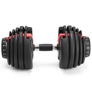 Новый вес Регулируемое гантель 5-52.5lbs Fitness Workouts Гантели тон вашей силы и построить свой musclesXbL8 #