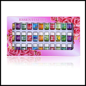 36pcs / Set Cilt bakımı Aromaterapi Uçucu Yağı 12 Tür 3ML Fragrance Aromaterapi Yağı Natural Spa Yağ Paketi